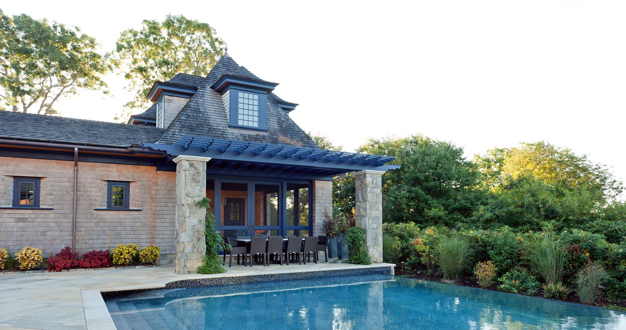 Stephen Sullivan Custom Home Builders Rhode Island Coastal Vacation Home -4