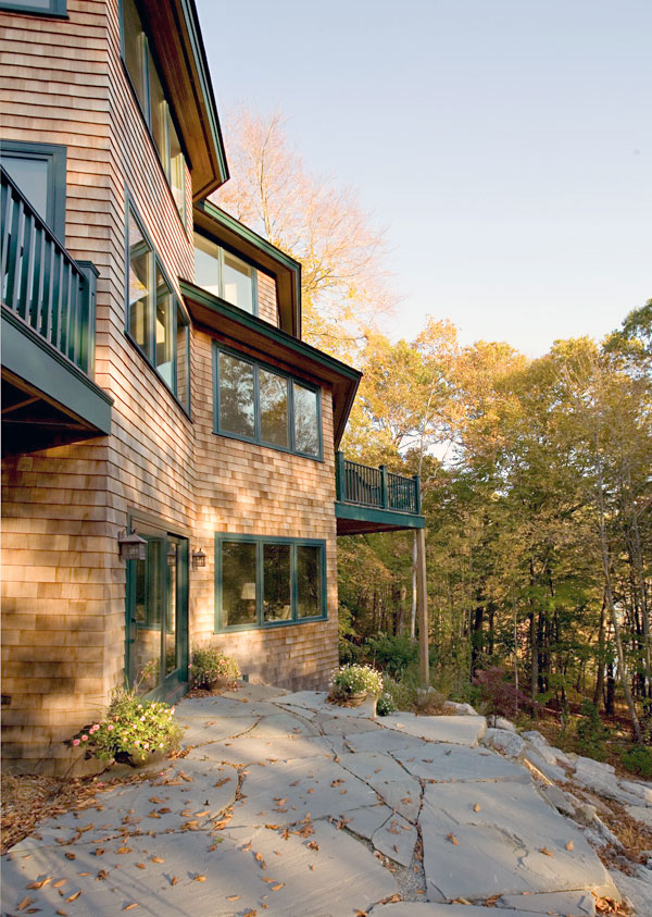 Stephen Sullivan Inc Custom Builders Rhode Island Slope Side Retreat -5