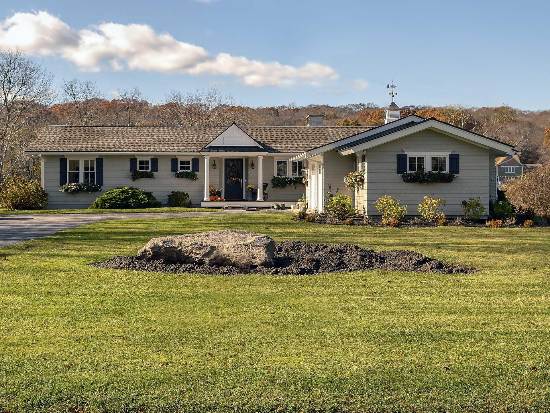 Stephen Sullivan - Custom Home Builders - Rhode Island - Narrow River Cottage feature photo