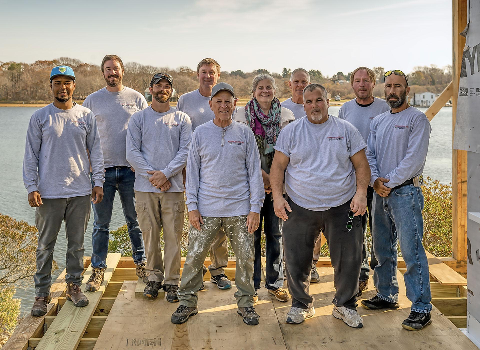 About - Stephen-Sullivan-Custom-Home-Builders-Rhode-Island-Team-Photo